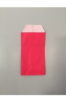 Bolsa papel impresa estucdo mate rosa