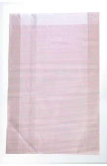 Bolsa rayas rosas, en celulosa satinada