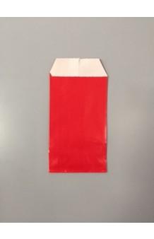 Bolsa papel estucado brillo rojo