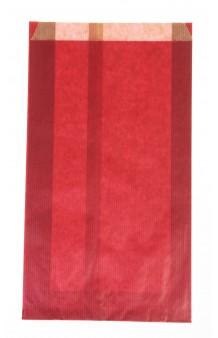 Bolsa celulosa metalizada rojo