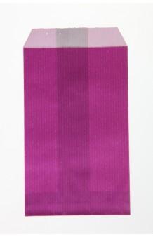 Bolsa celulosa verjurada púrpura