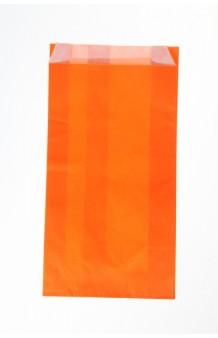 Bolsa celulosa verjurada naranja