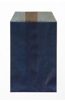 Bolsa kraft verjurado azul marino