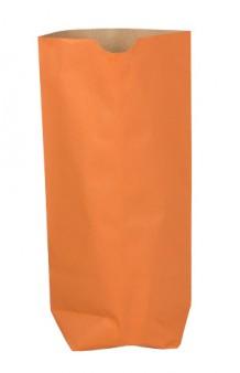 Bolsa cilíndrica color naranja 70g