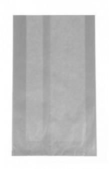 Bolsa celulosa metalizada plata