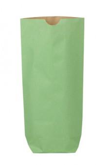 Bolsa cilíndrica color verde 70g